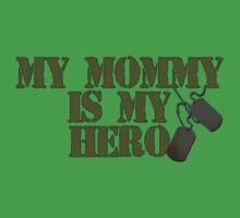 Mommy is my hero Baby Tee