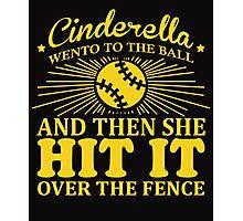 Cinderella went to the ball Rec Softball Photographic Print