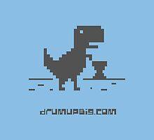Drum Up Big T-Rex _Grey by drumupbig