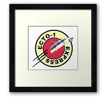 GHOSTBUSTERS EXPRESS Framed Print