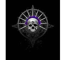 Cycle Pirate Skull Photographic Print