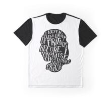 Alexander Hamilton Friends Quote Silhouette Graphic T-Shirt