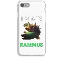 I main Rammus - League of Legends iPhone Case/Skin