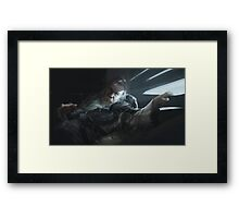 Lay Low Framed Print