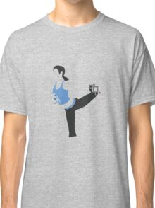 Pixel Silhouette: Wii Fit Trainer (Female) Classic T-Shirt