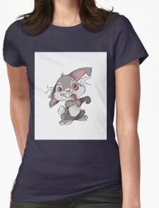 Zombie Bunny Womens Fitted T-Shirt