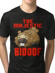 The Majestic Bidoof Tri-blend T-Shirt