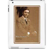 Max Figman - Strobridge - 1908 iPad Case/Skin
