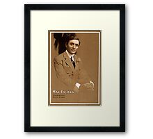 Max Figman - Strobridge - 1908 Framed Print