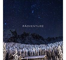 #adventure Photographic Print
