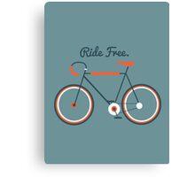 Ride Free Canvas Print