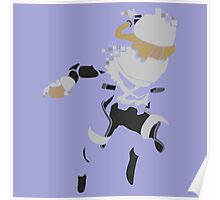 Pixel Silhouette: Sheik Poster