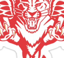 Detroit Red Wings - Florida Panthers Logomash Sticker