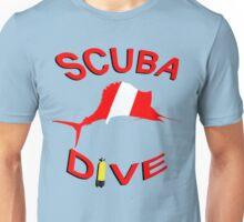 SCUBA Dive Sailfish  Unisex T-Shirt
