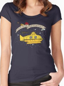 This Is An Adventure Women's Fitted Scoop T-Shirt