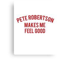 Pete Vaccines Logo Canvas Print