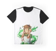 Music and Plants Graphic T-Shirt
