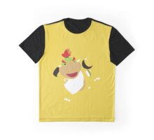 Pixel Silhouette: Bowser Jr. Graphic T-Shirt