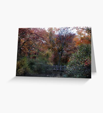 Autumn Scenery Greeting Card