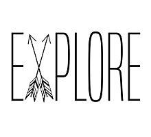 Explore With Arrows Photographic Print