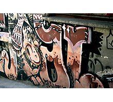 Peruvian Graffiti Photographic Print