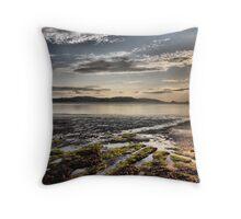 Paignton Seafront Throw Pillow