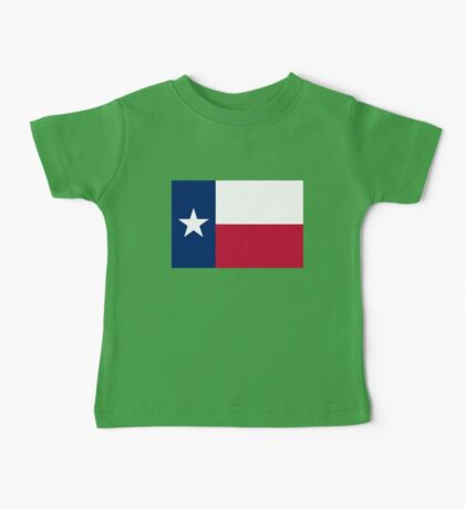The Lone star flag of Texas - authentic version Baby Tee