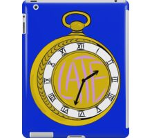 """ Late "" Pocket Watch iPad Case/Skin"