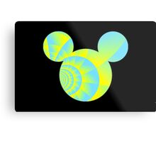 Swirly Mickey Metal Print