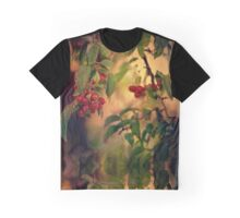 Red Berries in Fall Graphic T-Shirt