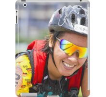 A Biker's Smile from Iron Man 70.3 - Philippines iPad Case/Skin