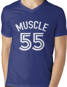 muscle 55 Mens V-Neck T-Shirt