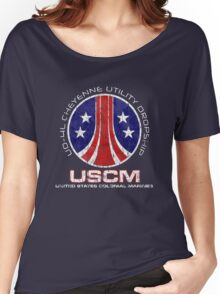 Aliens Cheyenne dropship crest Women's Relaxed Fit T-Shirt