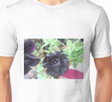 Dark Purple Flower  Unisex T-Shirt