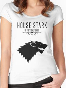 GAMES OF THRONES Women's Fitted Scoop T-Shirt