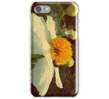 Secret Garden   White poppy iPhone Case/Skin