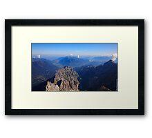 The Alps Framed Print