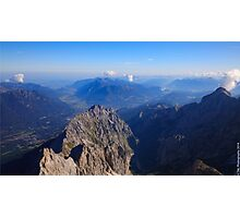 The Alps Photographic Print