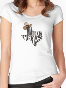 Made in Texas Women's Fitted Scoop T-Shirt