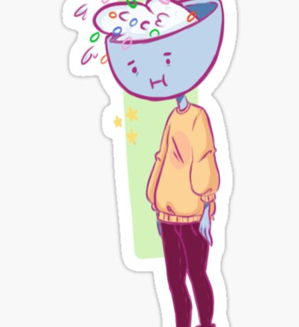 Cereal Anxiety Sticker