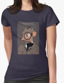 Very Interesting... Womens Fitted T-Shirt