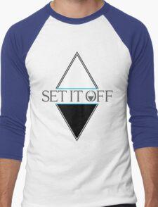 Set it off logog Men's Baseball ¾ T-Shirt