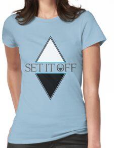 Set it off logog Womens Fitted T-Shirt