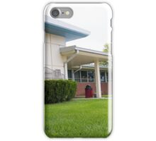 Graham County, Courthouse, Kansas iPhone Case/Skin