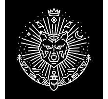 Jon Snow - The White Wolf Photographic Print