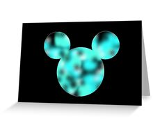 Lava Lamp Mickey Greeting Card