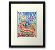 Decorator Crab Framed Print