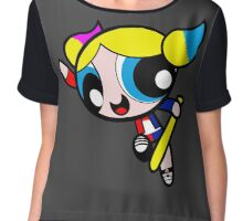 Harley Quinn Bubbles Chiffon Top