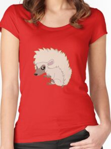 Hedgehog Women's Fitted Scoop T-Shirt