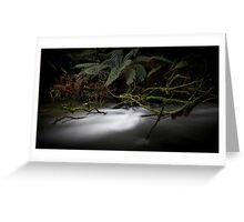 Junee River, Tasmania Greeting Card